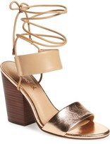 Splendid 'Kenya' Wraparound Lace Sandal (Women)
