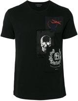 Alexander McQueen patch appliqué t-shirt