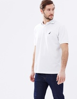 Nautica SS Solid Deck Polo