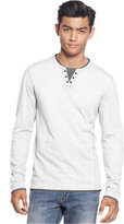 INC International Concepts Men's Layered Long-Sleeve Shirt, Only at Macy's