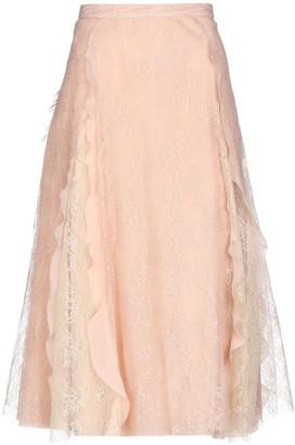 RED Valentino 3/4 length skirts
