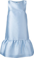 P.A.R.O.S.H. flared skirt sleeveless dress