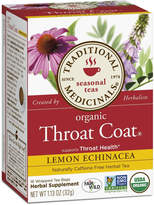 Traditional Medicinals Lemon Echinacea Throat Coat by 16 Tea Bags)
