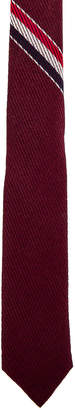 Thom Browne Classic School Uniform Necktie in Burgundy | FWRD