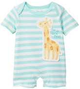 Rene Rofe Jungle Friends Giraffe Short Romper (Baby Boys)