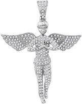 TheJewelryMaster 1.05 Carat Diamond Angel Pendant