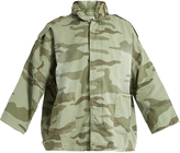 Current/Elliott The Fleet Admiral camouflage-print jacket