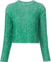 Protagonist knitted glitter jumper