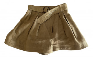 Zimmermann Brown Cloth Shorts
