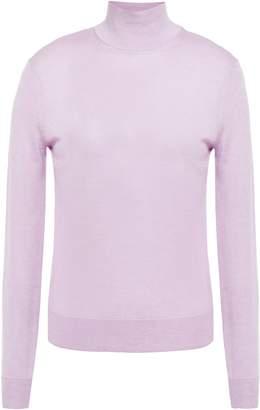 Theory Silk-blend Turtleneck Sweater