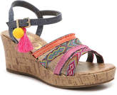 Sam Edelman Edena Kara Youth Wedge Sandal - Girl's