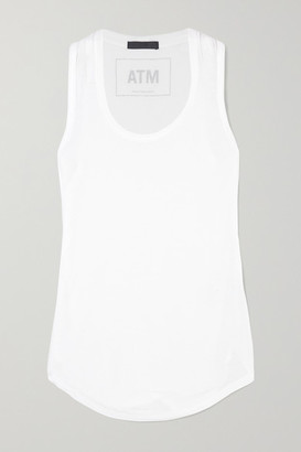 ATM Anthony Thomas Melillo Sweetheart Modal-jersey Tank - White