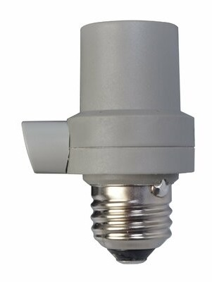 CFL LED Light Control Socket Sensors Woods