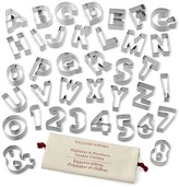 Williams-Sonoma Williams Sonoma Ultimate Alphabet & Number Cookie Set