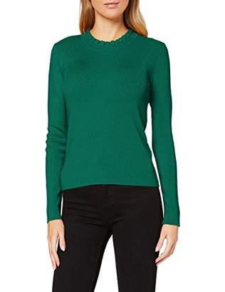 More & More Women's Feinstrick-Pullover Von Jumper, (Black 0790), (Size: 44)