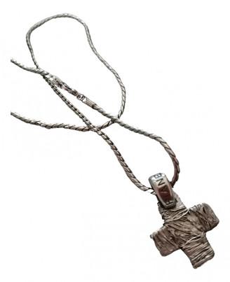 Pianegonda Grey Silver Necklaces