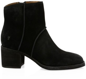 Frye Monroe Suede Ankle Boots