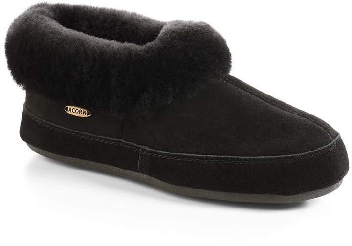 Acorn Women's Oh Ewe II Slippers - 10781, Coal, Size 7