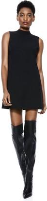 Alice + Olivia Arlena Mockneck Tunic Dress