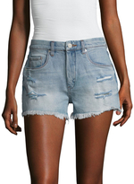 Blank NYC Five Pocket High Rise Denim Short