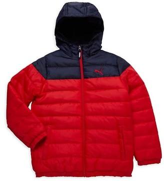 Puma Boy's Hooded Puffer Jacket