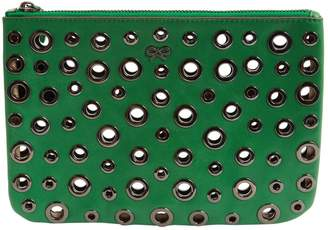 Anya Hindmarch Green Leather Clutch bags