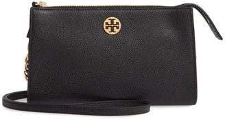 Tory Burch Everly Leather Mini Crossbody Bag