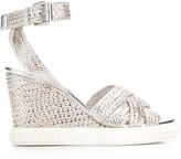 Casadei Twiga wedge sandals