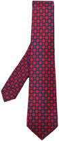 Kiton patterned tie - men - Silk - One Size