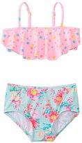 Seafolly Girls' Spring Bloom Mini Tube High Waist Bikini Set (2yrs6yrs) - 8133187