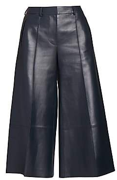 Rokh Women's Double Bonded Leather Culottes