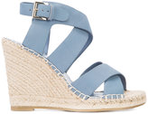 Joie wedged sandals - women - Leather/rubber - 9.5