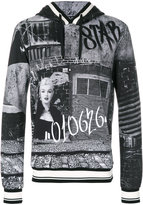 Dolce & Gabbana Marilyn Monroe graffiti print hoodie