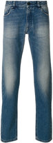 Fendi stonewashed jeans with embroidery