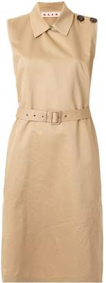 Marni sleeveless midi dress