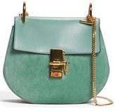 Chloé 'Mini Drew' Leather Crossbody Bag - Green
