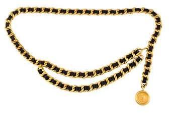 Chanel Medallion Chain Belt