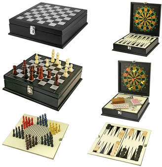 Natico Originals Game, 8 In 1, Wooden Box