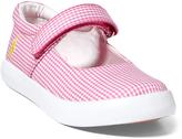 Polo Ralph Lauren Pink Gingham Pippa Mary Jan - Little Kid