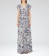 Reiss Eli Printed Maxi Dress
