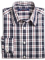 Brooks Brothers Boys' Double Plaid Shirt - Sizes XS-XL