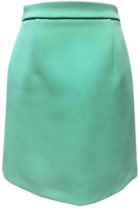 Alexander McQueen Turquoise Skirt for Women