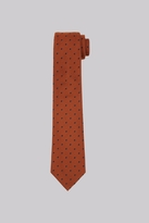 Hardy Amies Copper & Navy Spot Tie