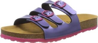 Lico Women's Bioline Kids Mules Purple (Lila Pink Lila) 7 UK