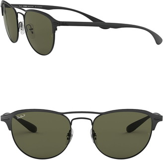 Ray-Ban Phantos 54mm Square Polarized Sunglasses