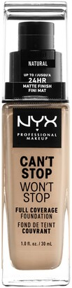 NYX Can't Stop Won't Stop Full Coverage Foundation - Natural