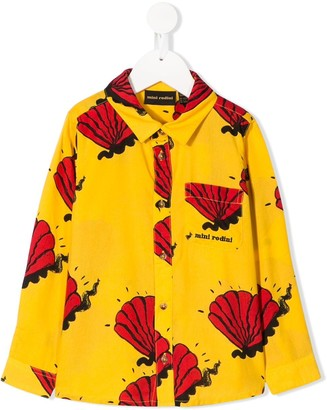 Mini Rodini Shell printed shirt