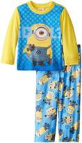 Despicable Me Little Boys' Minion Idol 2-Piece Pajama Set