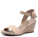 Django & Juliette Uday Nude/Taupe Leather
