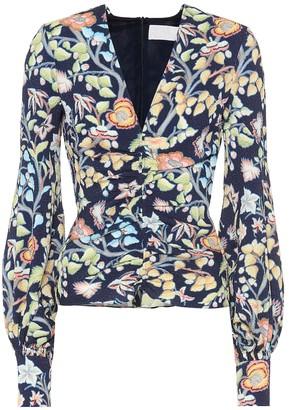Peter Pilotto Floral blouse